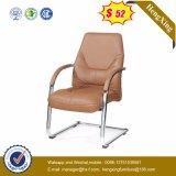 AluminiumEdelstahl-eleganter echtes Leder-ergonomischer Büro-Stuhl (HX-AC027A)