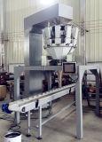 Multihead 무게를 다는 사람을%s 가진 자동적인 판지 상자 충전물 & 밀봉 기계