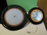 220V UFO LEDの低い湾IP65はセリウムLED天井の取付金具が付いている高い湾ライトを防水する