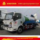 Sinotruk Cdw 4000 litres de l'eau d'arroseuse de camion de réservoir pour le jardinage