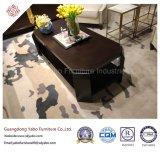 Прочная мебель гостиницы с журнальным столом лоббиа длинним (3453)