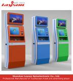 kiosque multifonctionnel de paiement de Bill d'écran tactile du contact 17/19/22/32/43/49/55/65infrared avec le bon kiosque