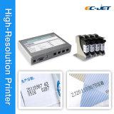 Máquina de impressão de logotipo Ink-Jet de alta resolução da impressora (ECH800)