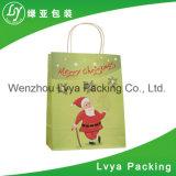 Cadeau de papier bon marché décoratif fantastique mignon de fantaisie fait sur commande de Noël d'OEM le petit met en sac en gros
