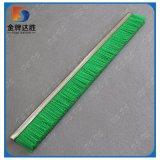 El verde engastado tira de Nylon cepillo de nylon