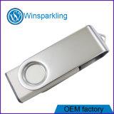 熱い金属の旋回装置カスタム昇進USBのフラッシュ駆動機構