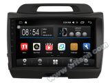 """Grand écran 9"""" Witson Android 6.0 DVD pour voiture Kia Sportage (haute avec 2.4L)"""