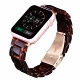 IwatchバンドストラップのAppleの時計バンドのための新しいデザイン大理石パターン樹脂の時計バンド、