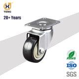 """Fixation de haute qualité rigide"""" TPR 5 Roulettes, type de montage de roue"""