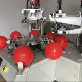 Machine d'impression d'écran en soie de ballon de deux couleurs