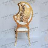 Ycx-Ss09A 아름다운 패턴을%s 가진 홀을 Wedding에 있는 의자를 식사하는 특별한 디자인 달 모양 백레스트