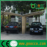 Curvas personalizadas único o doble techo de policarbonato Carparts marquesinas