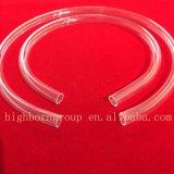 Tubo di vetro del riscaldatore del quarzo della fibra di figura di C U