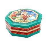 Fabricado en China el Envasado de Alimentos Navidad tin box