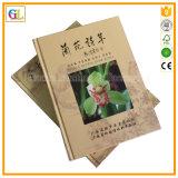Service d'impression fait sur commande de livre de livre À couverture dure (OEM-GL036)
