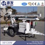 Hf120Wのトレーラーの井戸の掘削装置