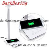 Chargeur sans fil mobile de téléphone cellulaire avec la lampe de Tableau de DEL aucun signal d'échantillonnage