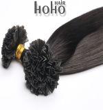 Preço de venda por grosso de 20 polegadas brasileira preta V Dica Extensão de cabelo