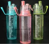 Бутылка воды брызга OEM пластичная выпивая Sprort