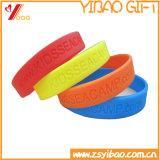 Braccialetto su ordinazione del Wristband/del silicone per il regalo promozionale