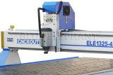 長命CNCのルーター1325の4軸線、3D CNCの木製の切り分ける機械、イタリアHsdスピンドルとの4つの軸線CNCのルーターの彫刻家CNC
