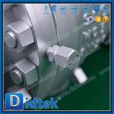 Didtek ASME B16.34 Wcb 포이에 의하여 거치되는 공 벨브