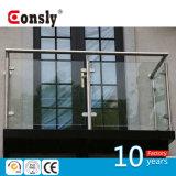 AISI 스테인리스 Outdaoor /Indoor 현대 유리제 방책 디자인 난간 손잡이지주 발코니 방책