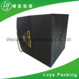 Sac de papier fait sur commande de cadeau de mariage de vente chaude/sac de papier d'achats avec des traitements