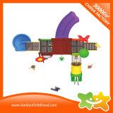 Trasparenza esterna variopinta del parco di divertimenti dei giocattoli di interazione dei bambini del campo da giuoco per i capretti