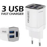 4A 3 USB (백색) 빠른 이동 전화 접합기 여행 충전기