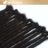 20 polegadas pêlos sintéticos Preto Extensões Dreadlocks croché