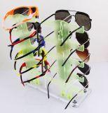 De kleurrijke AcrylVertoning Sunglass van de Assemblage 10PCS