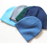 Sombreros hechos punto promocionales de la gorrita tejida del invierno de la manera