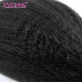 卸売のためにまっすぐにねじれた加工されていないブラジルの人間の毛髪の拡張