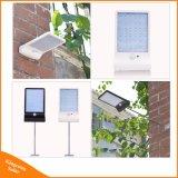 450lm 36 LEDの太陽エネルギーの街灯PIRの動きセンサーランプの庭の機密保護ランプの屋外の通りの防水壁ライト