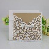 Fantasie kundenspezifische Gruß-Karten-Hochzeits-Einladung kardiert Drucken