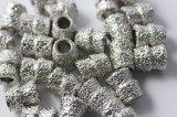 Les talons brasés par vide pour le fil en pierre de diamant de carrière et de bloc ont vu le découpage