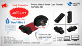 Productos en promoción Mini Android EMV Micro USB inalámbrico Smart Card Reader (ACR38U-ND)