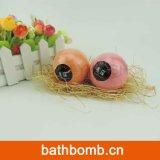 Bombas hechas a mano del baño de los macarrones con petróleos esenciales y sal del mar - conjunto de lujo de Fizzers del baño