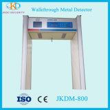 Alta sensibilidad económica paseo a través del detector de metales