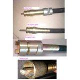 60mm de diamètre vibreur pour béton pour l'arbre de 1 à 12 m