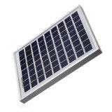 chargeur de batterie polycristallin de module de panneau solaire de piles solaires de 5W 12V pour le pouvoir de bateau de caravane appliqué à la batterie d'éclairages LED de C.C