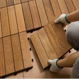 中国の製造者様式の選択の屋外のもみの安の木製の橋床のタイルからのバルク買物