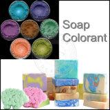 Multi pigmento brilhante de mica da substância corante para a fatura de sabões