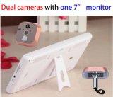 7 Polegada Peephole telefone da porta de vídeo sem fio