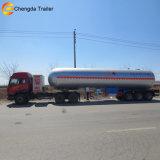 Acoplado ampliamente utilizado del carro del depósito de gasolina del LPG para la venta