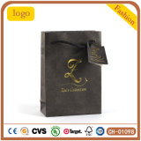 Hot Stamping Watch sac, sac de papier cadeau, regarder la sac de papier