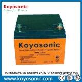 Batterie d'acide de plomb de gel de batterie d'accumulateurs d'énergie solaire de la longue vie 12V 26ah