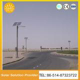 Lâmpadas ao ar livre solares solares personalizadas da iluminação de rua das luzes de rua da cor