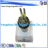 De façon générale inférieur de bande de Smoke/PVC Insulated/PVC Sheathed/Al examiné/câble d'ordinateur/instrumentation